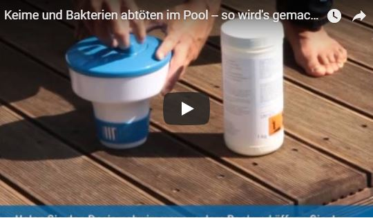 Pool-Desinfektion-Videoanleitung